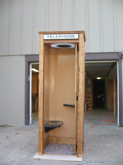 refurbished phone booth