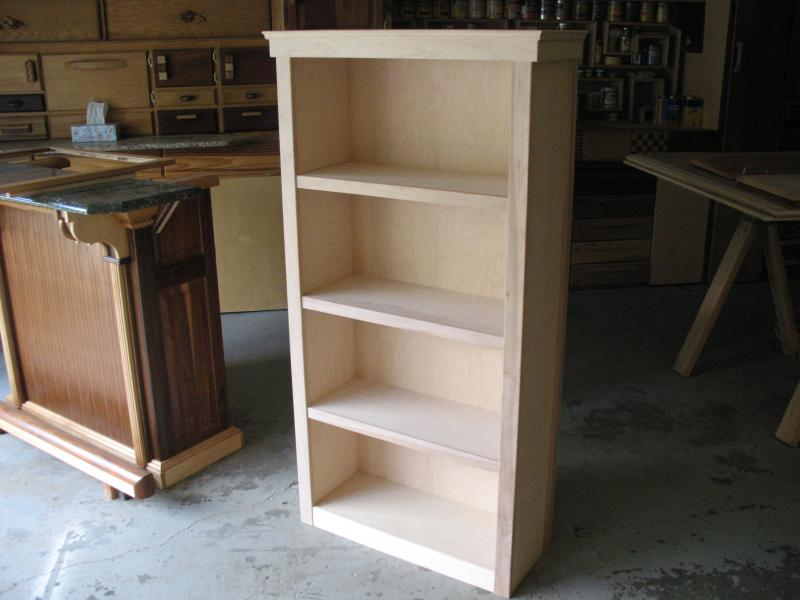 Chrissy's bookcase