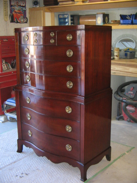 Refinished 1950's Highboy