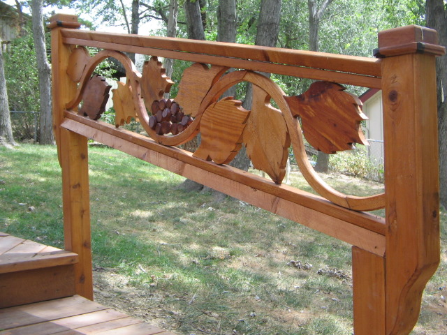Does your deck railing look like everyone else's in the neighborhood?