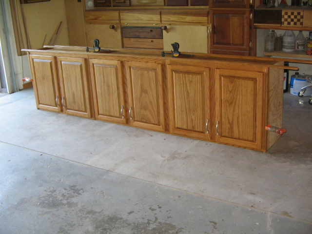 custom height and depth cabinets